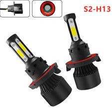 360° H13 9008 36W 6000LM LED Headlight Bulb Kit Hi/Lo Beam 6000K 2pcs New