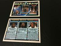 SCOTTIE PIPPEN 1993 NBA Hoops Beam Team Insert Card #6 w DAVID ROBINSON J MALONE