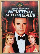 Never Say Never Again DVD 1983 James Bond Film Classic Rare w/ Sean Connery