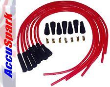 accuspark 8mm Hochleistung Silikon HT Kabel rot für 6 Zylinder Auto