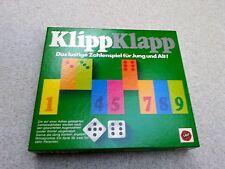 KlippKlapp A. SALA Zahlenspiel Klassiker 70er Jahre Vintage Klipp Klapp Spiel