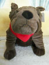"Dan Dee 12"" plush stuffed Bulldog Dog"