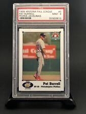 1999 Arizona Fall League Pat Burrell PSA 9 Peoria Javelinas