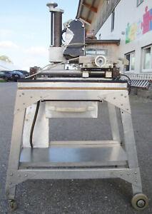 Schleifmaschine Bandschleifmaschine Metallschleifmaschine Schleifer mit Tisch