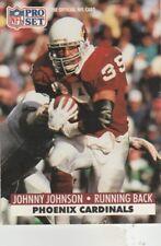 FREE SHIPPING-MINT-1991 Pro Set Football #624 Johnny Johnson ARIZONA CARDINALS