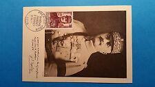 FRANCE CARTE MAXIMUM YVERT 1065 FRANCHET D ESPEREY 30F PARIS 1956 L 182