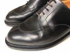 J.M. Weston Black Leather 598 Demi Chasse Half Hunt Derby 8.5UK / 9.5 US $1400*