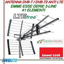 ANTENNA DIGITALE TERRESTRE TRIPLA UHF LTE,RAPP.A/V 29dB, EMMESSE 45WSL
