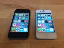 Two Apple iPhone 4s Phones - 16GB - Black (AT&T) and White (Unlocked)
