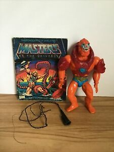 1981 He-man Masters Of The Universe Beast Man Action Figure Complete Comic