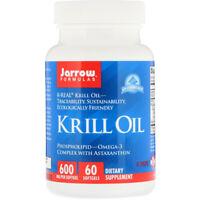 Jarrow Formula's Antarctic Krill Oil 60 Capsules   Omega 3 Astaxanthin EPA DHA