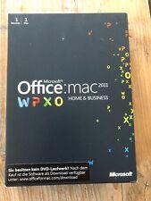 Office 2011 Home & Business Edition für MAC, Box Vollversion mit MwSt Rechnung