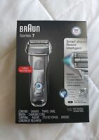 New Open Box Braun Series 7 Cordless Electric Shaver Razor Wet NFL 7893s