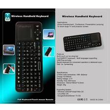 iPazzport 2.4G Wireless Keyboard Mouse Touchpad with Laser LED Backlight US 2OJ4