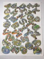 """Alphabet City Scott Teplin 2017 24"""" x 18"""" Glossy Poster of Letters and Numbers"""