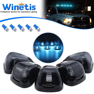 5x Ice Blue Roof Running Light Cab Marker For Ford E-250 F-350 F-450 Super Duty