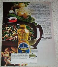 1974 ad page -Planters peanut cooking Oil- Japanese Beef Sukiyaki recipe ADVERT