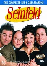 Seinfeld : Vol 1 (DVD, 2004, 4-Disc Set) Season 1 and 2 LIKE NEW R4 DVD