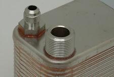 Plattenwärmetauscher Bördelanschluss Split-Klima Wärmepumpe Pool R410A R407C etc