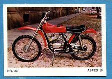 MOTO - Ed. Raf - Figurina/Sticker n. 33 - ASPES 50 -Rec