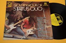 STATUS QUO lp golde hour of UNIQUE DIFFERENT COVER