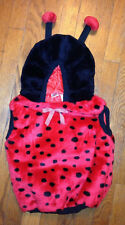 Toddler Lady Bug Halloween Costume One Piece Size 24 Months