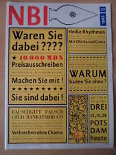 NBI 32 - 1965 ** FKK Berliner Ensemble Santiago de Chile Karte Afghanistan DDR
