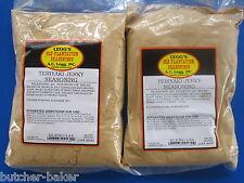 Teriyaki Jerky Seasoning Spices for 50 Lbs of meat Venison Elk Beef Deer w/ Cure
