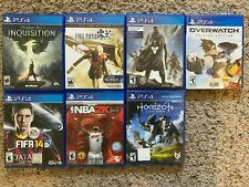 New listing Sony Playstation 4 Ps4 Game Huge Lot: Final Fantasy, Destiny, Overwatch, Horizon