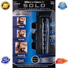 NEW! As Seen On TV Micro Touch SOLO Hyper-Advanced Razor Shaver Microtouch