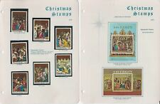 Equatorial Guinea Christmas Topical Collection, 1971-1974, 12 Pages
