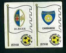 Figurina Calciatori Panini 1979-80 Scudetti Albese/Carrarese!N.536! Nuova!!