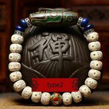 Natural Bodhi Seed Eyes Tibetan Buddhism Mala Beads Bracelet Gift For Unisex