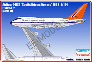 Eastern Express 1/144 B-747SP SOUTH AFRICAN EE144153_2