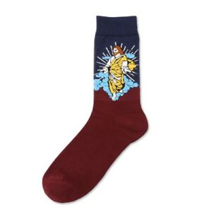 Jesus SOCKS Casual Or Dress Men/women NEW with tag - Cotton Sock Size 9-11