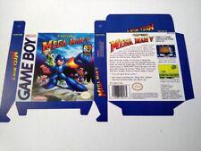 Mega Man V 5 USA version game boy art box only NO GAME
