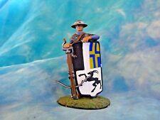 Soldat de plomb du moyen-âge - Arbalétrier suisse XVème siècle - Toy soldiers
