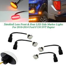 1Set Clear Lens LED Front Rear Side Marker Lights For 2010-14 Ford F-150 Raptor
