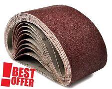 20x 75x457 Sanding Belts ® MIXED GRIT Fit Bosch Makita Power Sander 40 60 80 120