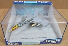 Armour F18 Hornet Aircraft Eagle Noseart Spain Air Force Airplane Die-Cast 1:100