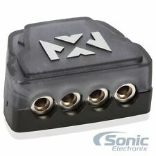 NVX XDBU4 Universal Distribution Block w/ One 1/0 AWG In & Four 4/8 AWG Outputs