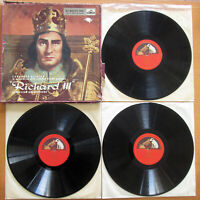 ALP 1341-43 Shakespeare Richard III Laurence Olivier 3xLP Box Set damaged cover
