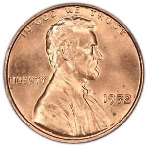 1972 Lincoln Cent- Doubled Die Obverse FS-102 DDO-002 ANACS MS 65 RED