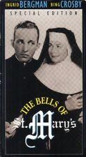 VHS: THE BELLS OF ST. MARYS...BING CROSBY-INGRID BERGMAN