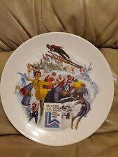 THE OFFICIAL 1980 OLYMPIC WINTER GAMES PLATE LIMITED EDITION