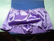 Mens Vintage Reproduction Slip Skirt Panties Shiny Pouched RIO Satin Briefs