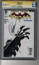 Batman (2011) # 23 1:100 Sketch RI - CGC 9.4 WHITE Pages - SS Greg Capullo