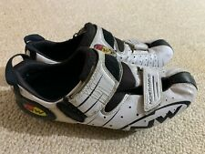 Northwave ladies cycling shoes in white/black - size 6