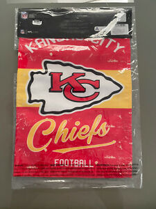 """NFL Kansas City Chiefs Double Sided Flag 18"""" x12"""""""