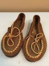 Suede Leather Minnetonka Maccasin - Size 8 1/2